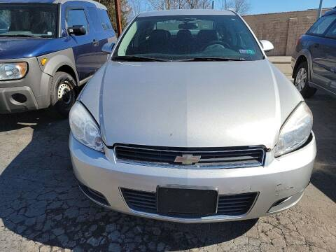 2008 Chevrolet Impala for sale at JORDAN AUTO SALES in Youngstown OH