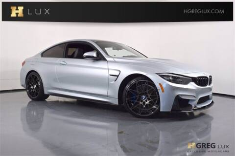 2018 BMW M4 for sale at HGREG LUX EXCLUSIVE MOTORCARS in Pompano Beach FL