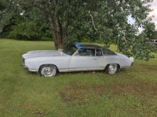 1970 Chevrolet Monte Carlo for sale at Classic Car Deals in Cadillac MI