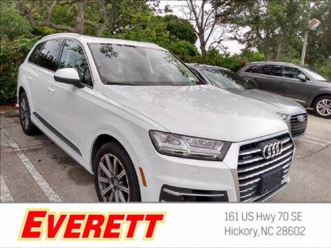 2018 Audi Q7 for sale at Everett Chevrolet Buick GMC in Hickory NC