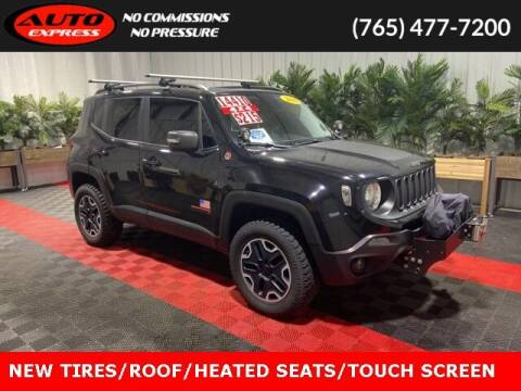 2016 Jeep Renegade for sale at Auto Express in Lafayette IN
