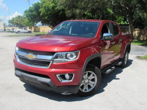 2015 Chevrolet Colorado for sale at Easy Deal Auto Brokers in Hollywood FL
