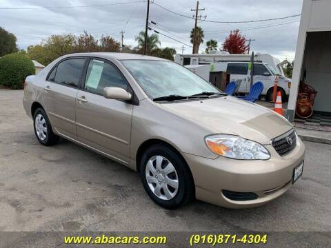 2006 Toyota Corolla for sale at About New Auto Sales in Lincoln CA