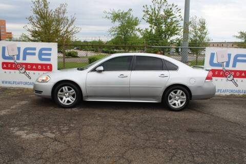 2012 Chevrolet Impala for sale at LIFE AFFORDABLE AUTO SALES in Columbus OH
