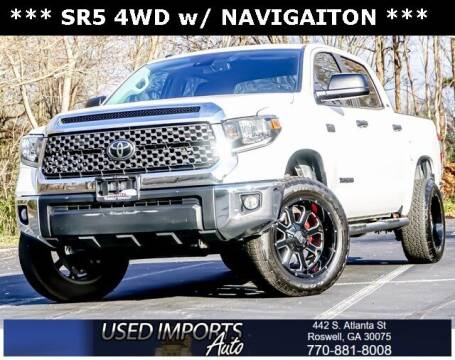 2019 Toyota Tundra for sale at Used Imports Auto in Roswell GA