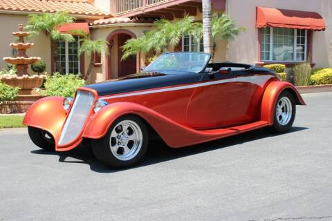 1933 Ford Roadster for sale at American Classic Cars in La Verne CA