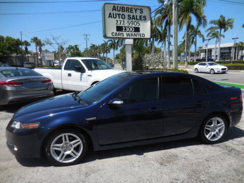 2008 Acura TL for sale at Aubrey's Auto Sales in Delray Beach FL