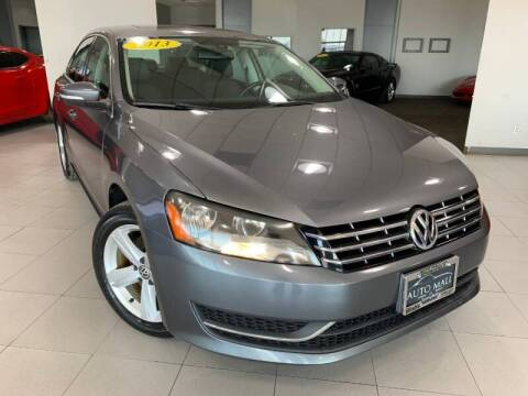 2013 Volkswagen Passat for sale at Auto Mall of Springfield north in Springfield IL