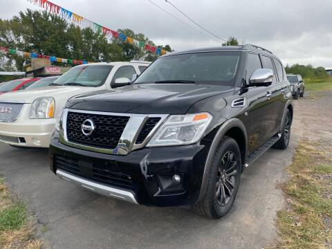 2017 Nissan Armada for sale at BEST AUTO SALES in Russellville AR