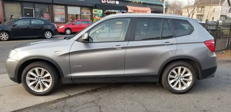 2014 BMW X3 for sale at Motor City in Roxbury MA
