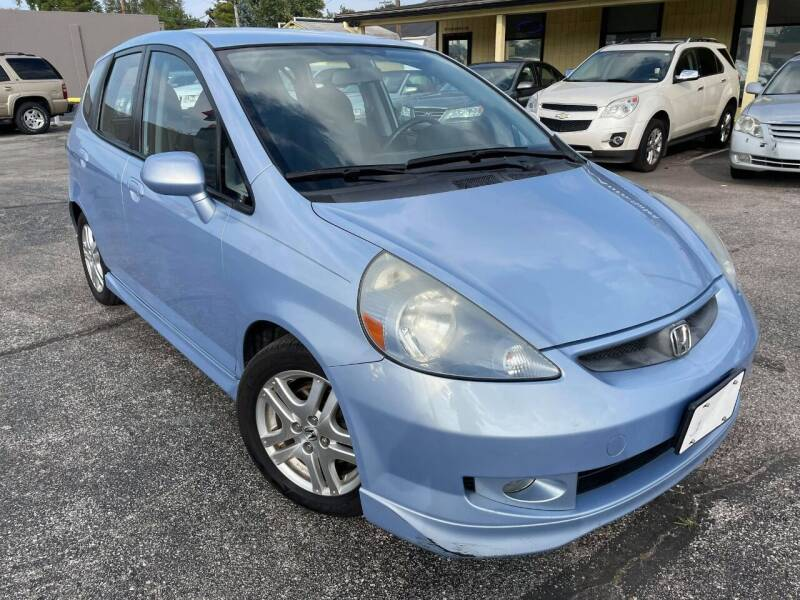 2008 Honda Fit for sale at speedy auto sales in Indianapolis IN