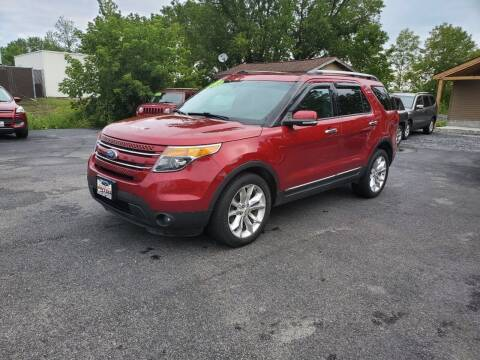 2015 Ford Explorer for sale at Excellent Autos in Amsterdam NY