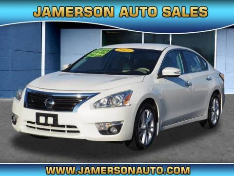2015 Nissan Altima for sale at Jamerson Auto Sales in Anderson IN