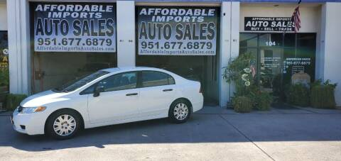 2010 Honda Civic for sale at Affordable Imports Auto Sales in Murrieta CA