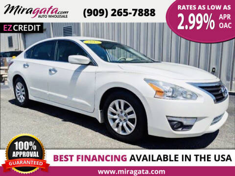 2015 Nissan Altima for sale at Miragata Auto in Bloomington CA