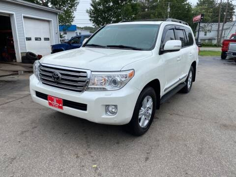 2014 Toyota Land Cruiser for sale at AutoMile Motors in Saco ME