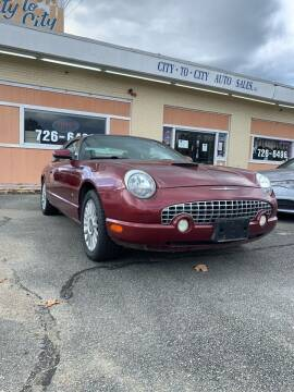 2004 Ford Thunderbird for sale at City to City Auto Sales in Richmond VA