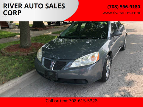 2008 Pontiac G6 for sale at RIVER AUTO SALES CORP in Maywood IL