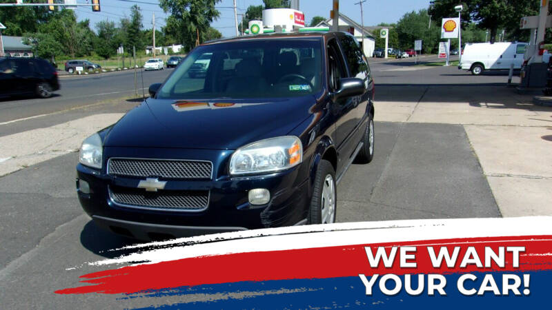 2007 Chevrolet Uplander for sale at FERINO BROS AUTO SALES in Wrightstown PA