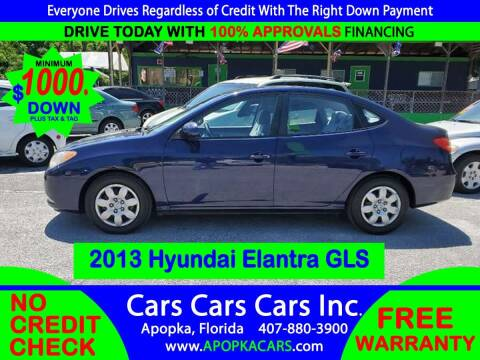 2008 Hyundai Elantra for sale at CARS CARS CARS INC in Apopka FL