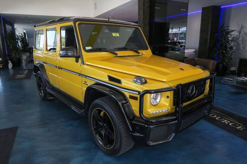 2016 Mercedes-Benz G-Class for sale at OC Autosource in Costa Mesa CA
