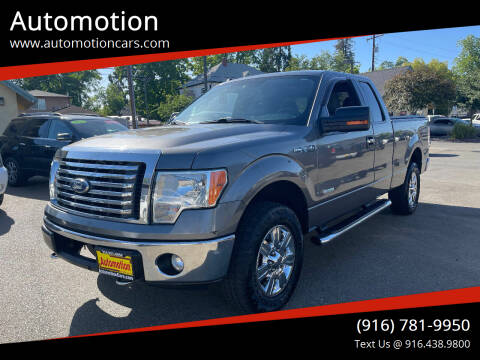 2011 Ford F-150 for sale at Automotion in Roseville CA