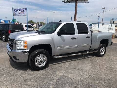 2012 Chevrolet Silverado 2500HD for sale at Superior Used Cars LLC in Claremore OK