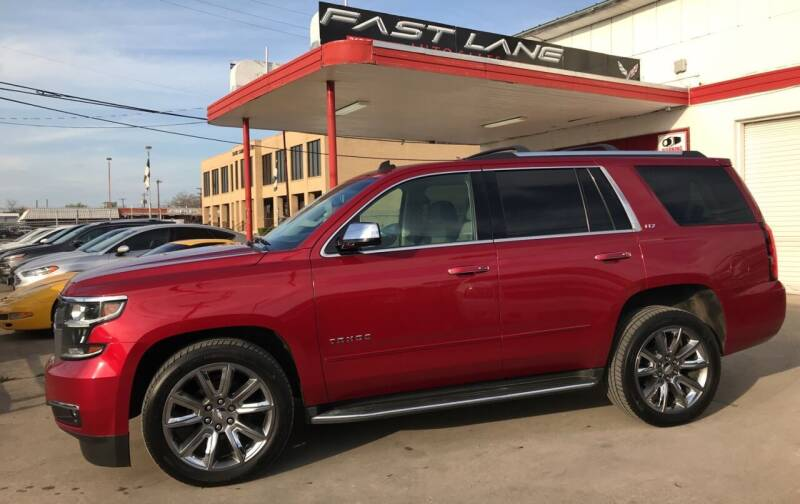2015 Chevrolet Tahoe for sale at FAST LANE AUTO SALES in San Antonio TX