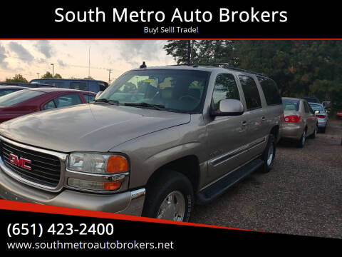 2003 GMC Yukon XL for sale at South Metro Auto Brokers in Rosemount MN