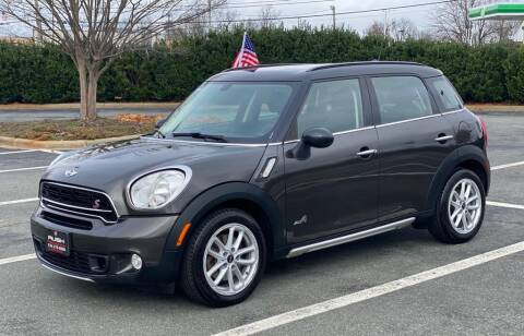 2016 MINI Countryman for sale at RUSH AUTO SALES in Burlington NC