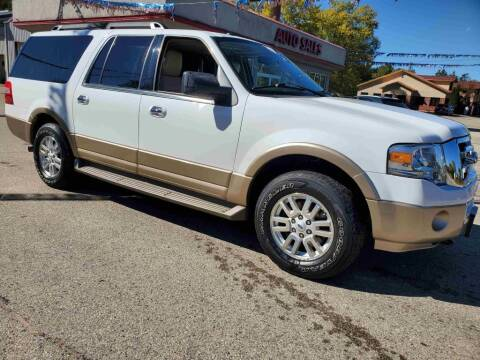 2012 Ford Expedition EL for sale at Extreme Auto Sales LLC. in Wautoma WI