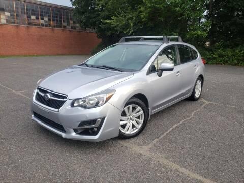 2016 Subaru Impreza for sale at Positive Auto Sales, LLC in Hasbrouck Heights NJ