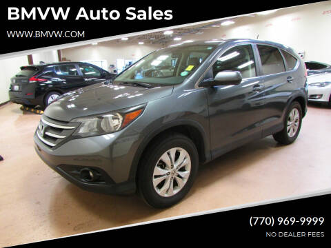 2012 Honda CR-V for sale at BMVW Auto Sales in Union City GA