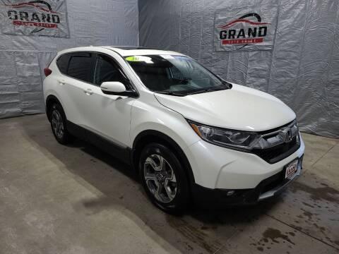 2017 Honda CR-V for sale at GRAND AUTO SALES in Grand Island NE