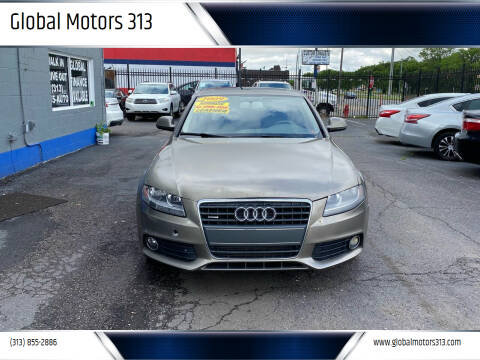 2009 Audi A4 for sale at Global Motors 313 in Detroit MI