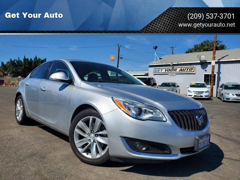 2016 Buick Regal for sale at Get Your Auto in Ceres CA