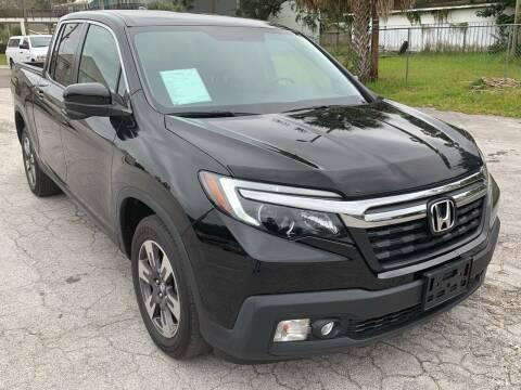 2017 Honda Ridgeline for sale at Consumer Auto Credit in Tampa FL