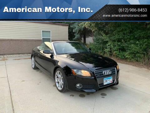 2010 Audi A5 for sale at American Motors, Inc. in Farmington MN