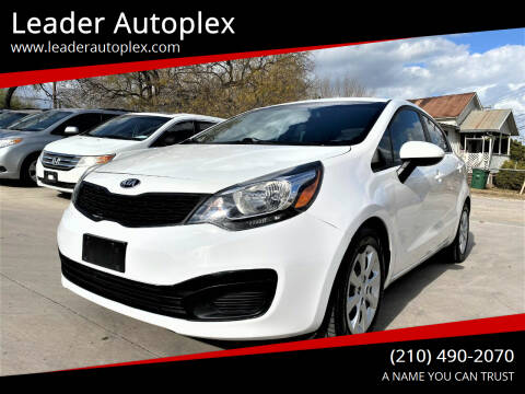 2015 Kia Rio for sale at Leader Autoplex in San Antonio TX