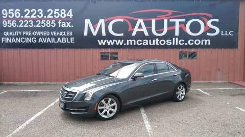 2016 Cadillac ATS for sale at MC Autos LLC in Pharr TX