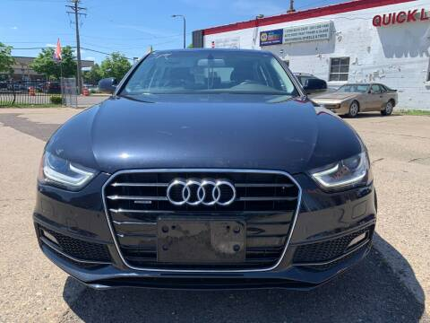 2015 Audi A4 for sale at Minuteman Auto Sales in Saint Paul MN