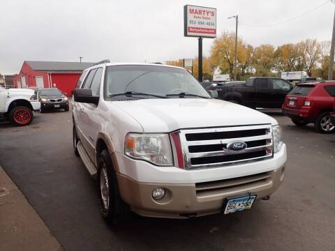 2007 Ford Expedition for sale at Marty's Auto Sales in Savage MN