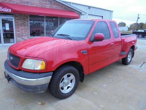 2001 Ford F-150 for sale at US PAWN AND LOAN in Austin AR