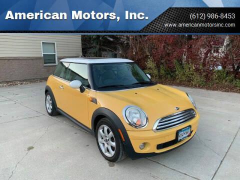 2007 MINI Cooper for sale at American Motors, Inc. in Farmington MN