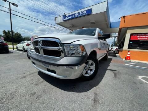 2016 RAM Ram Pickup 1500 for sale at LATINOS MOTOR OF ORLANDO in Orlando FL