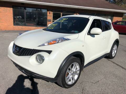 2012 Nissan JUKE for sale at SARRACINO AUTO SALES INC in Burgettstown PA