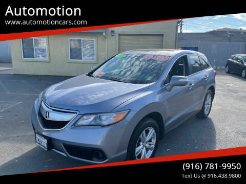2013 Acura RDX for sale at Automotion in Roseville CA