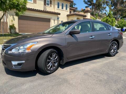 2015 Nissan Altima for sale at CALIFORNIA AUTO GROUP in San Diego CA