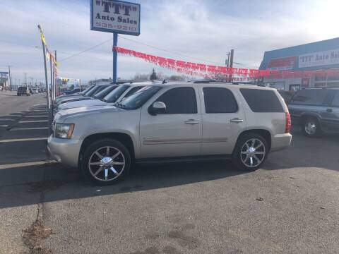 2007 Chevrolet Tahoe for sale at TTT Auto Sales in Spokane WA