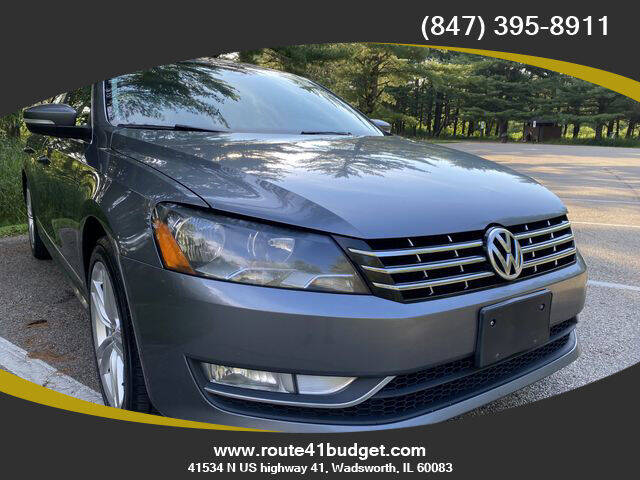 2014 Volkswagen Passat for sale at Route 41 Budget Auto in Wadsworth IL